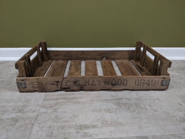 Vintage Wooden Produce Tray