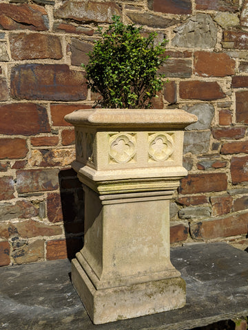 Sandstone Effect Square Planter
