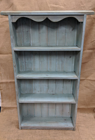 Colour Washed Solid Pine Bookcase