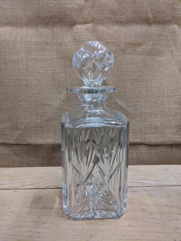 Handmade Crystal Decanter