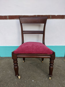 Victorian Upholstered Nursing Chair