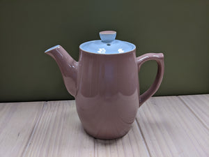 Blue & Brown Teapot by Langley
