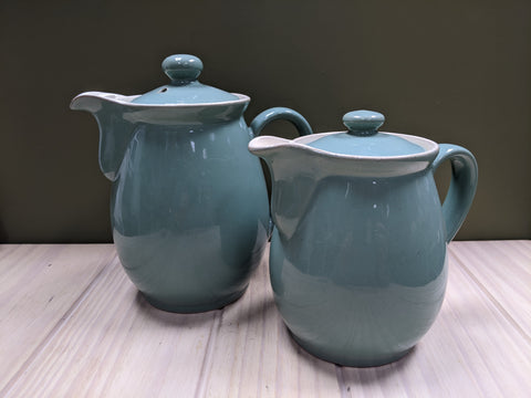 Manor Green 1940's Teapot by Denby