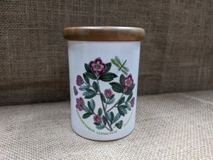 Rhododendron Storage Jar by Portmeirion