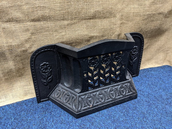 Rare Ornate Victorian Coal Retainer