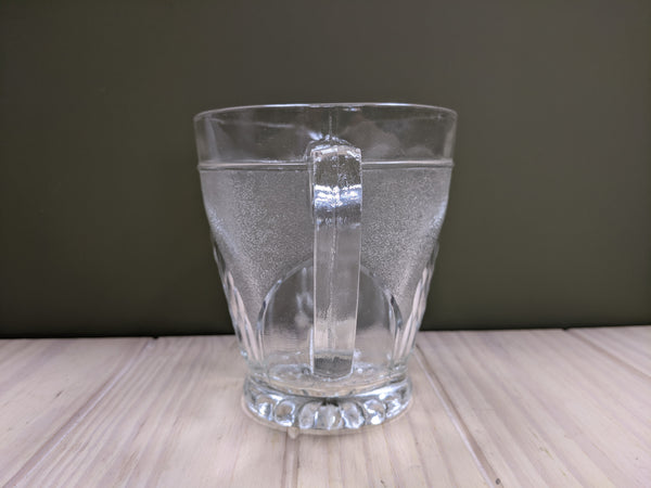 Vintage Cut Glass Water Jug / Pitcher