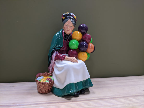 The Old Balloon Seller Figurine by Royal Doulton
