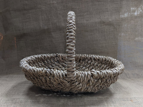 Oval Natural Seagrass Grocery Basket
