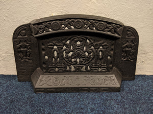 Ornate Victorian Coal Retainer