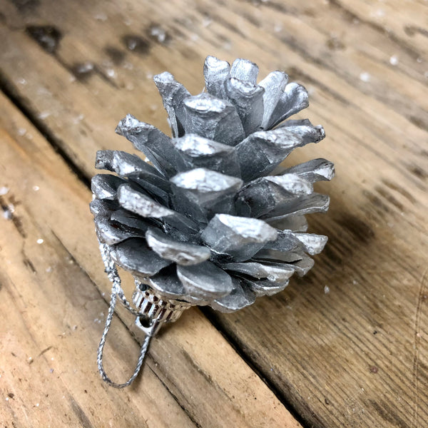 Hanging Fir Cone Christmas Decorations