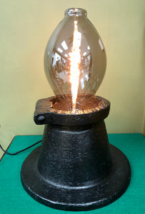 Heavy Bespoke Cast Iron Lamp