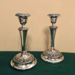 Pair of EPNS Candlesticks