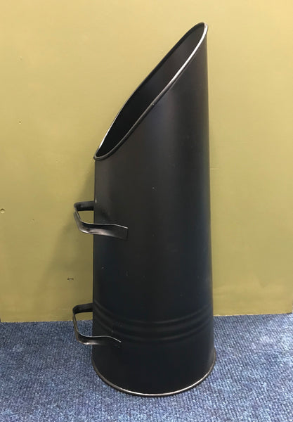 Black Upright Coal Scuttle