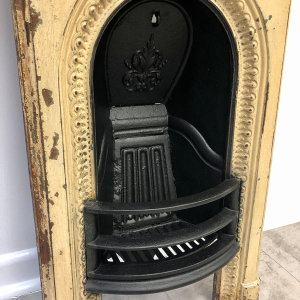 Cast Iron Shabby Chic Fireplace