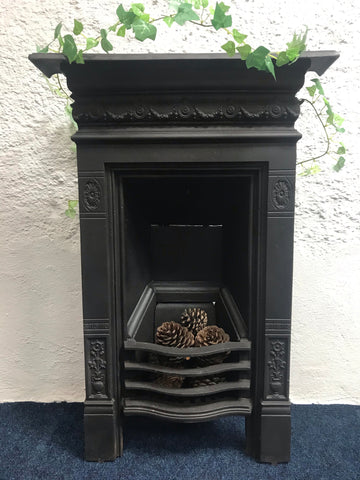 Small Cast Iron Bedroom Fireplace