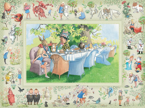 Family and Company- Alice in Wonderland Puzzle