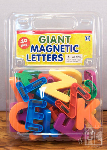 Family and Company- Giant Magnetic Letters Upper Case