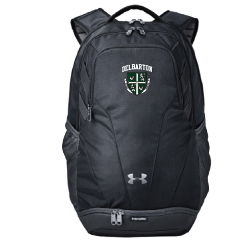 UA Hustle Backpack - Black or Graphite