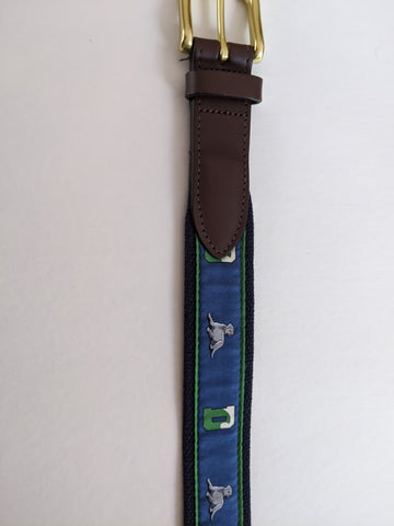 Belt - VV Ben DWave - Green/Navy