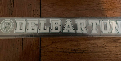 Car Decal Classic – Delbarton with Crest