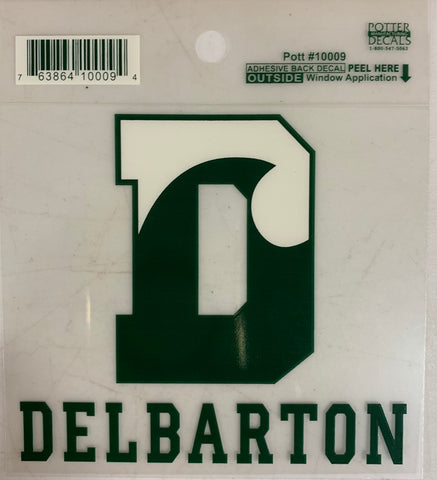 Car Decal - D Wave with Delbarton