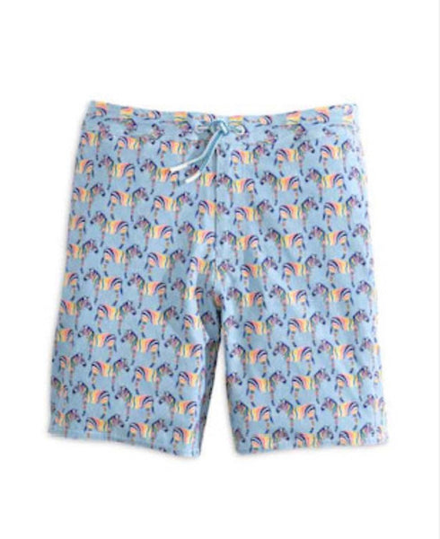 Johnnie-O - Lorne SWIM Short - Gulf Blue