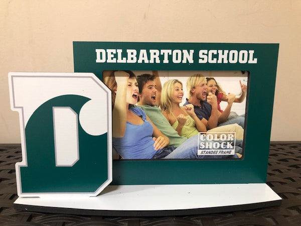 Frame – D Logo with Delbarton School