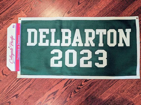 Banner - Class of '20, '21, '22, '23, '24 '25 - Green/White