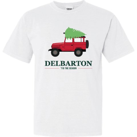 Comfort Colors - Jeep Christmas S/S Tee - White