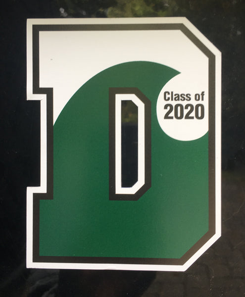 2020 D Wave Car Magnet