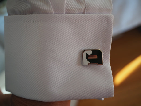 Cufflinks - Green D'Wave