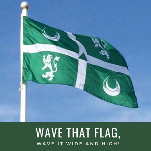Flag - Delbarton Flag