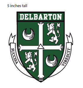 Car Decal Classic – Delbarton Crest