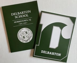 Pocket Folders - Delbarton Crest or DWave
