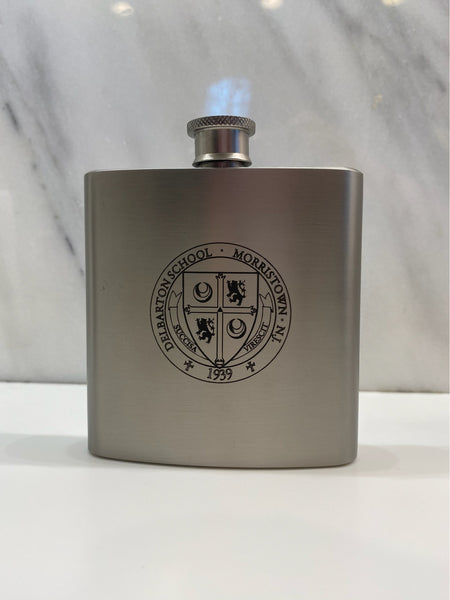 Flask - Stainless Steel Rhodium