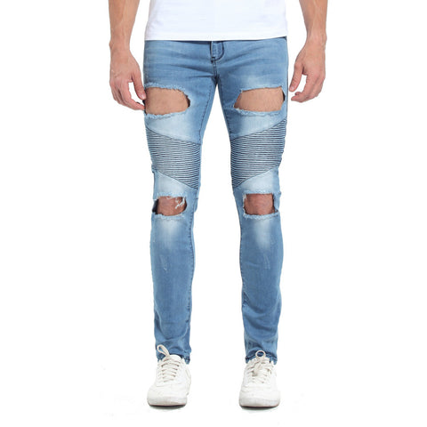White Ripped Urban Skinny Jeans