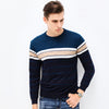 Striped Knitted Sweatshirt - AyWear