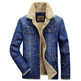 Denim Lined Fur Jacket - AyWear
