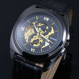 Classic Roman Numerals Skeleton Watch - AyWear