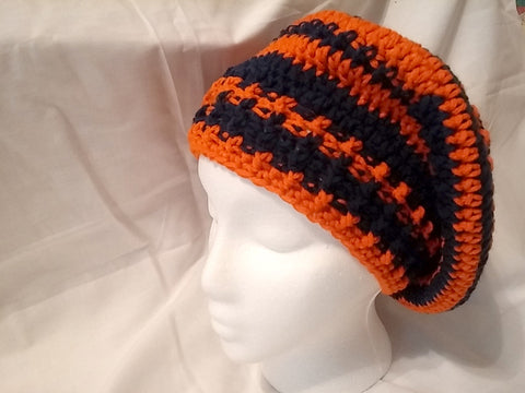 Team Spirit Slouch Hat - Blue and Orange