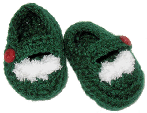 Baby's Christmas Slippers