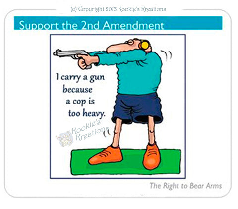 Mouse Pad - Support the 2nd Amendment