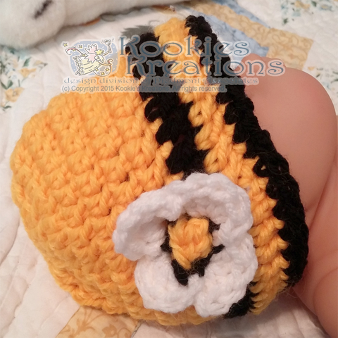 Bumble Bee Sleep Sac with Matching Baby Beanie