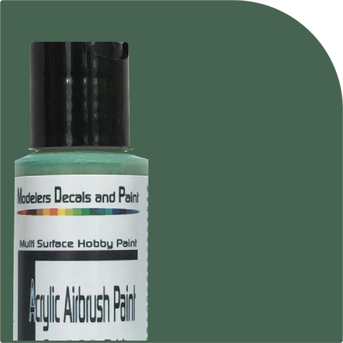 LIGHT GREEN Airbrush Paint 1-ounce size