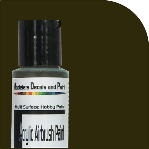 PULLMAN GREEN Airbrush Paint 2 oz