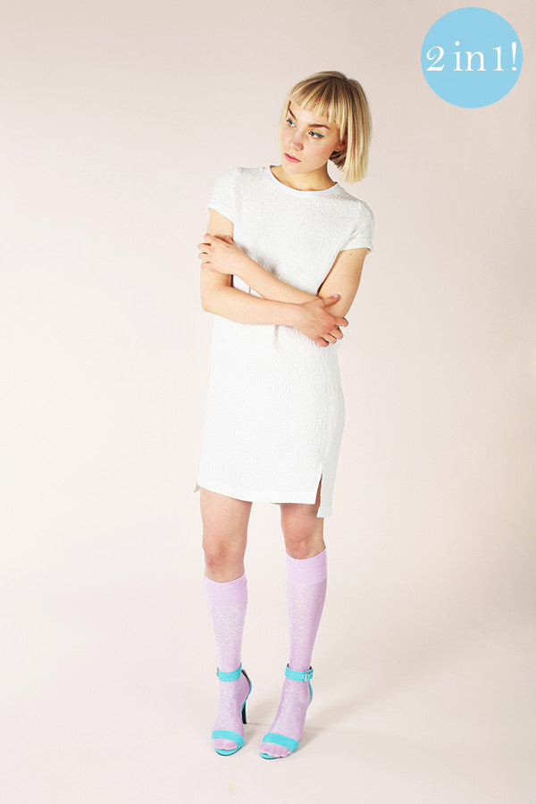 Inari Tee Dress & Crop Top Sewing Pattern --- Named Clothing