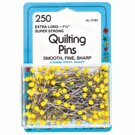 250 Quilting Pins-- Extra Long