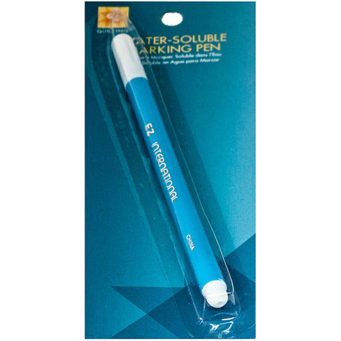 Water Soluable Blue Marking Pen -- E Z