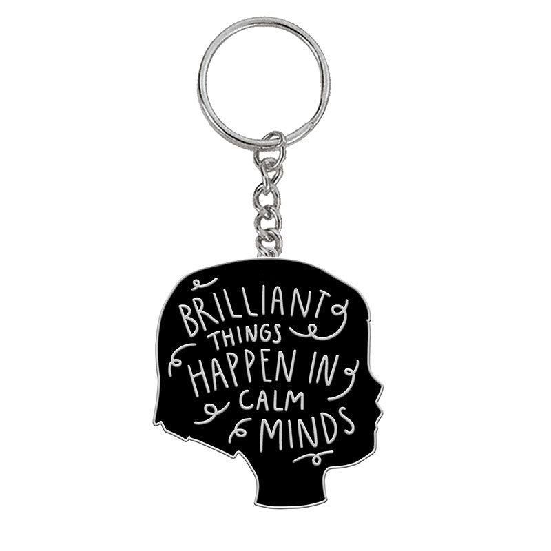 Calm Minds Keychain -- Gingiber