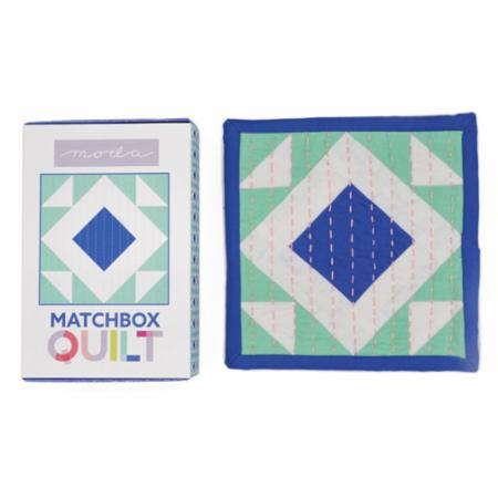 Matchbox Quilt Kit #5 -- Cobalt Blue